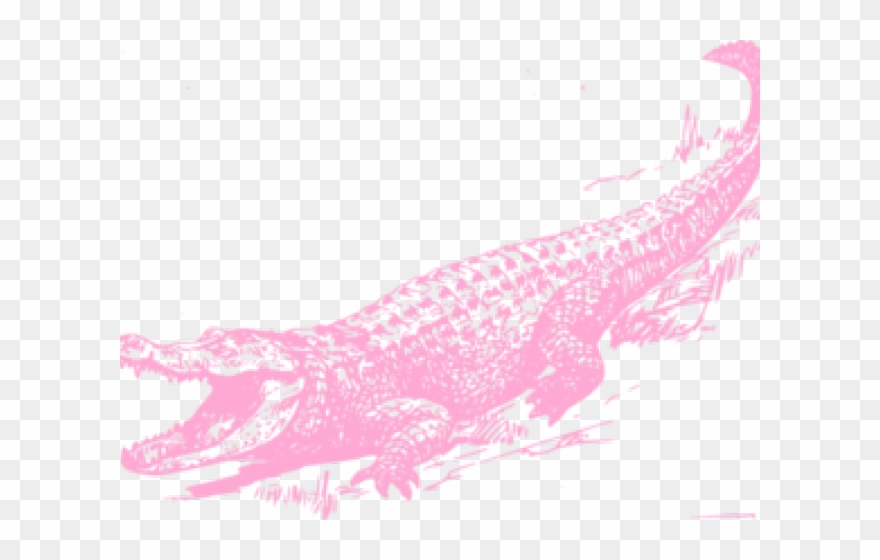 Alligator pattern clipart clip art library Alligator Clipart Name - Crocodile Black And White - Png Download ... clip art library