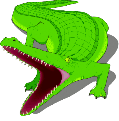 Alligator png clipart graphic black and white stock Download Free png Alligator PNG Clipart - DLPNG.com graphic black and white stock