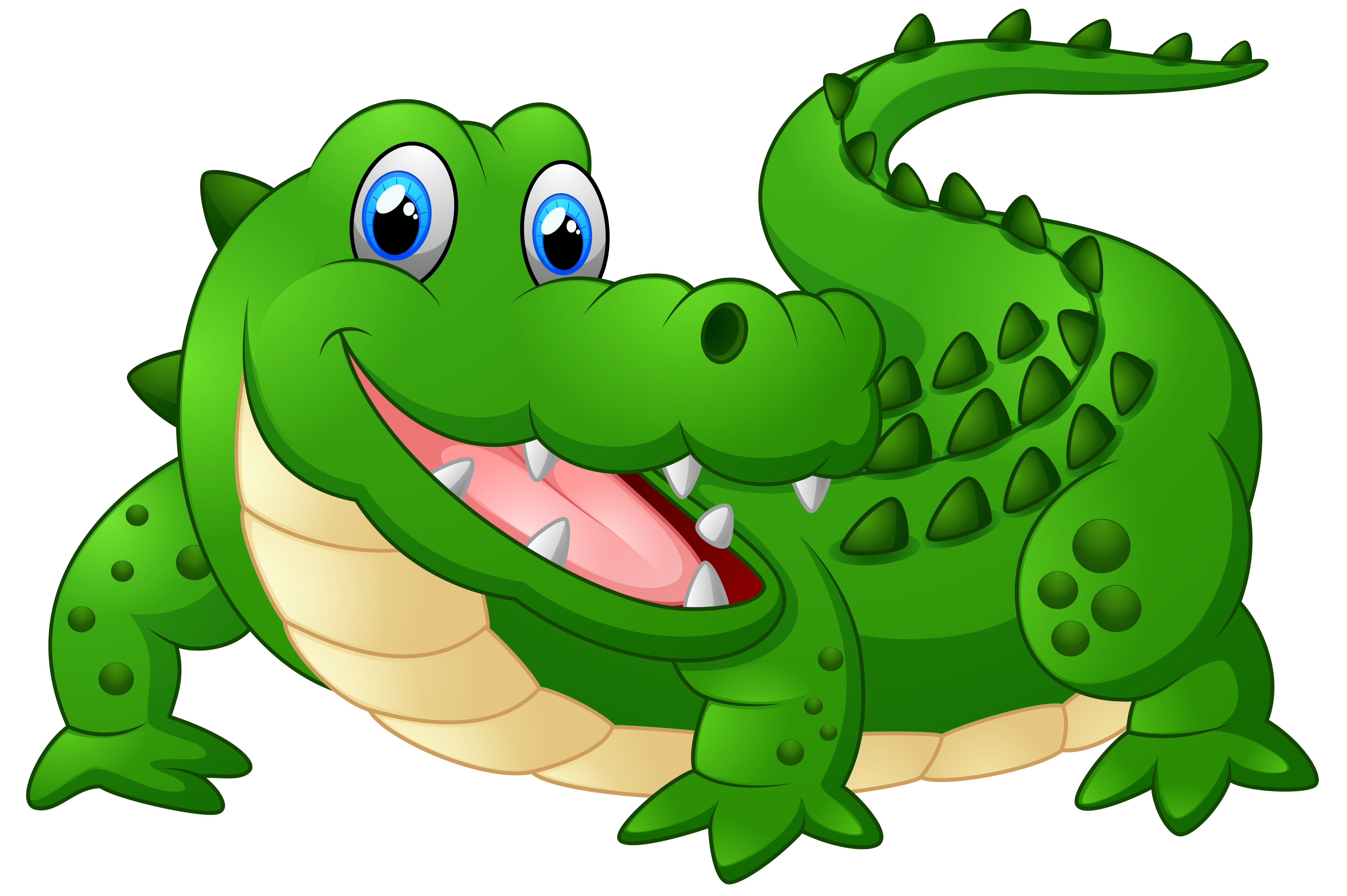 Alligator reading a book clipart clipart royalty free Happy Crocodile Cartoon PNG Clipart Image | Gallery Yopriceville ... clipart royalty free