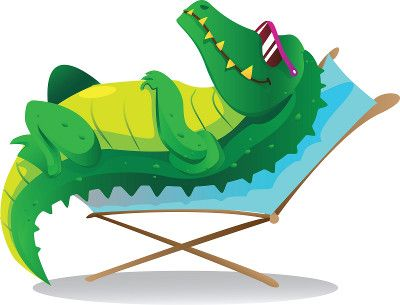 Alligator swimming clipart svg free library Later Gator: 5 Features You Can Put Off When Building a Pool   Pool ... svg free library