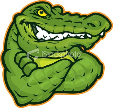 Alligators clipart football clip art free library This gator confident gator mascot is great for any mascot driven ... clip art free library