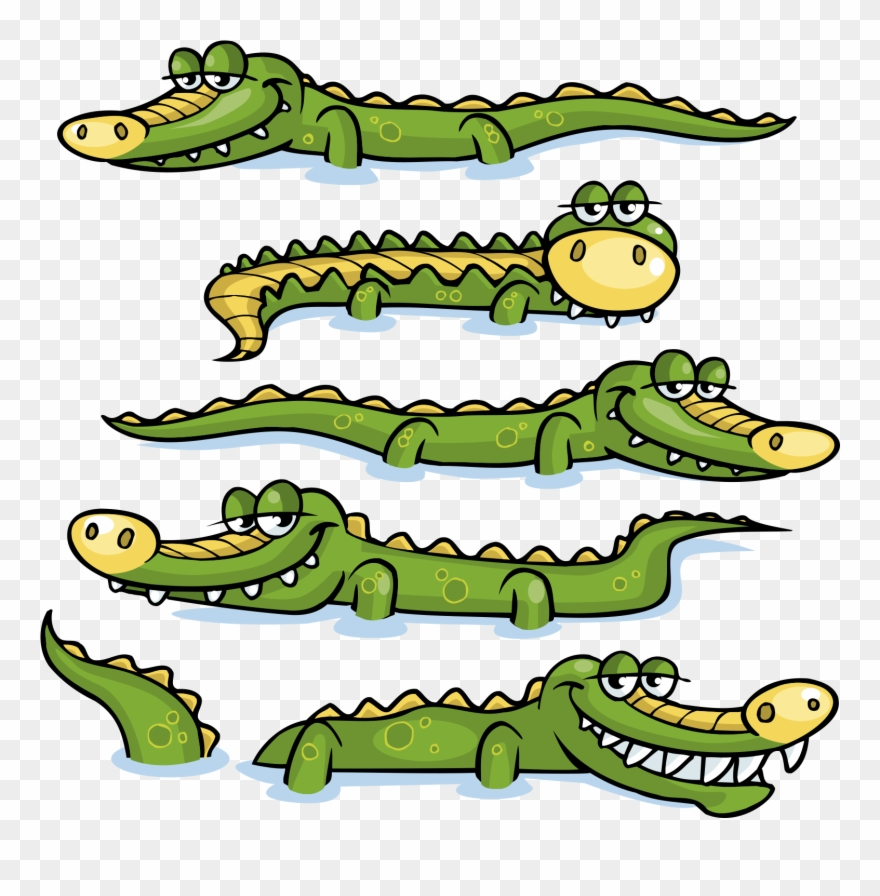 Alligators in rivers clipart without watermark clipart transparent Crocodile Clipart River Clipart - Crocodiles Clipart - Png Download ... clipart transparent