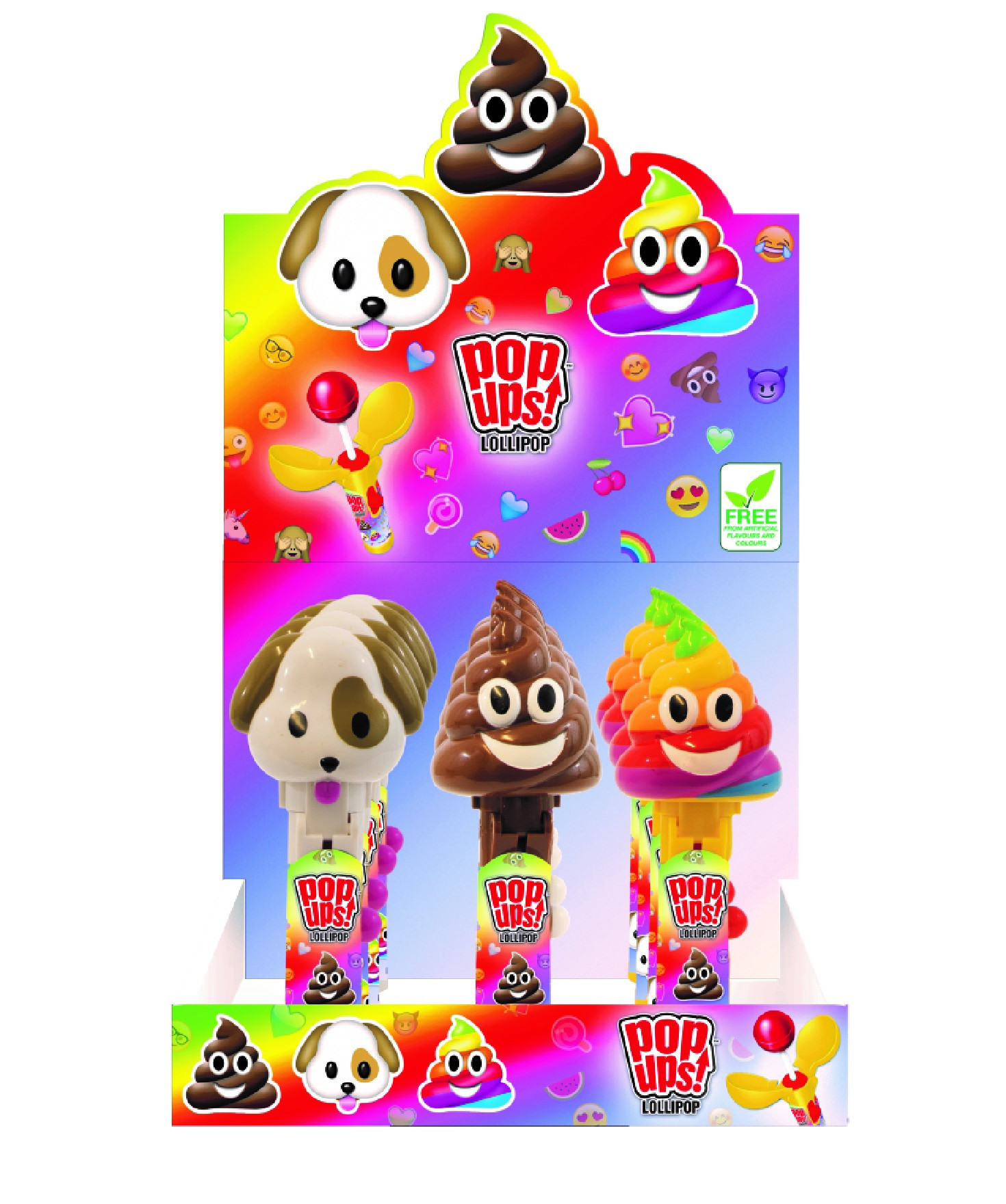 Alma fudge cartoon clipart black and white picture free library BIPMoji Pop Up Lollipops picture free library