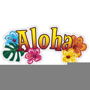 Aloha free clipart clip art royalty free download Aloha Word Clipart | Free Images at Clker.com - vector clip art ... clip art royalty free download