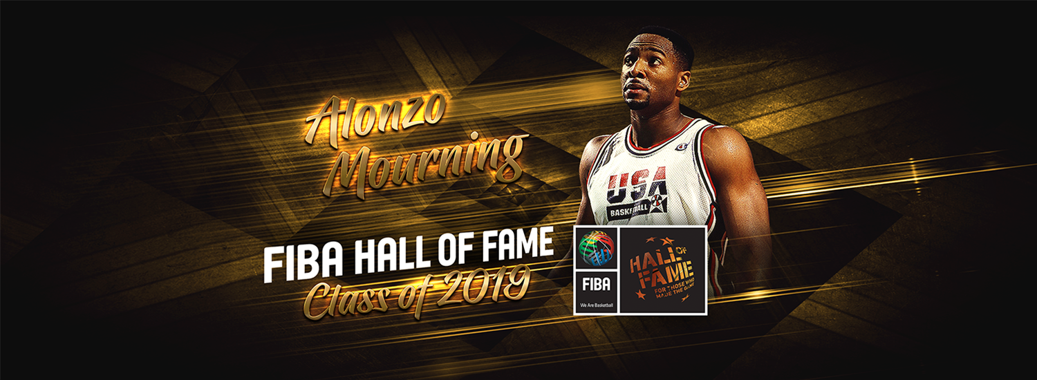 Alonzo mourning clipart jpg free download 2019 Class of FIBA Hall of Fame: Alonzo Mourning - FIBA.basketball jpg free download