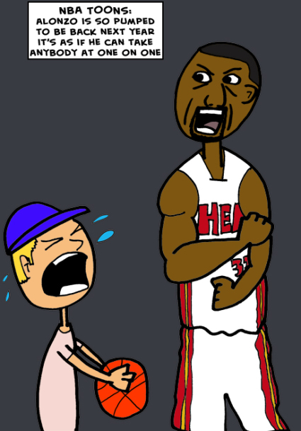 Alonzo mourning clipart clipart freeuse download NBA TOONS: Alonzo Mourning Is Pumped | NBA Basketball and Other ... clipart freeuse download