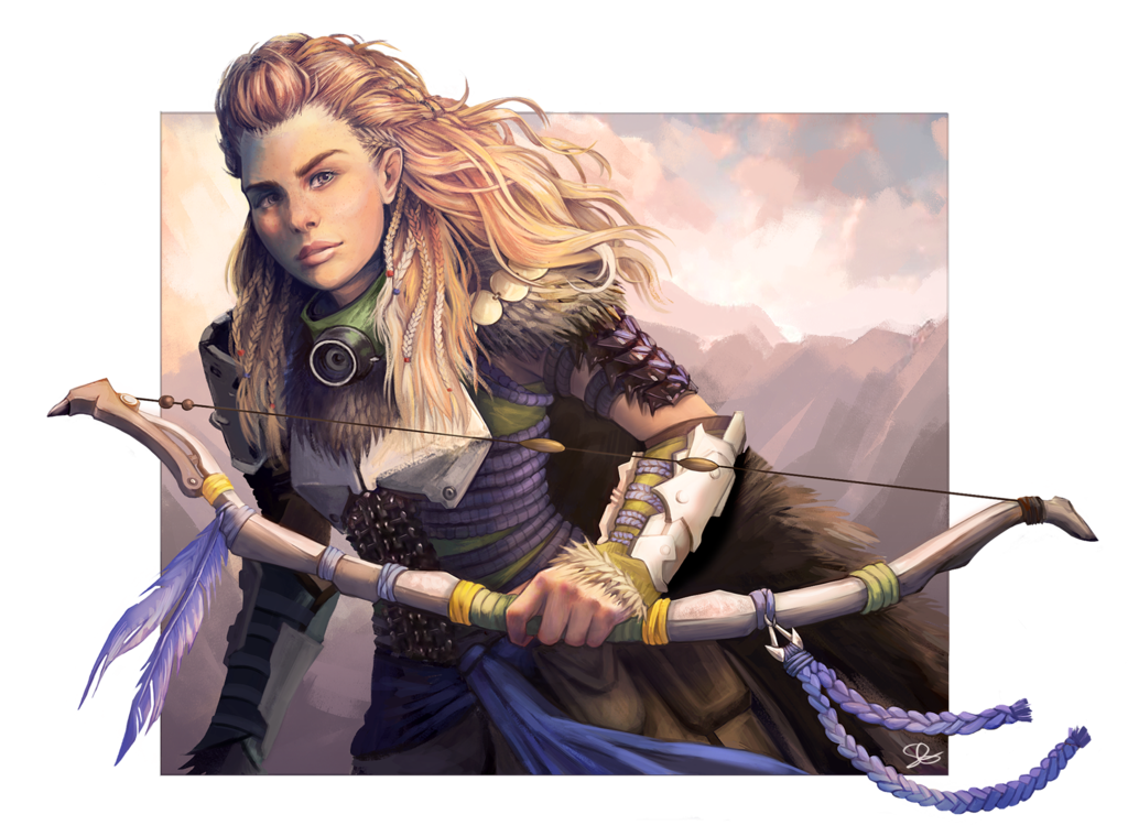 Aloy hzd clipart jpg freeuse stock Aloy concept art clipart images gallery for free download | MyReal ... jpg freeuse stock