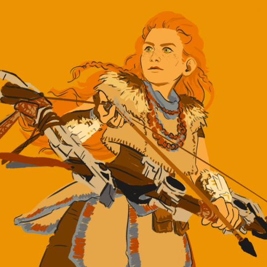 Aloy hzd clipart freeuse stock aloy is bae | Tumblr freeuse stock