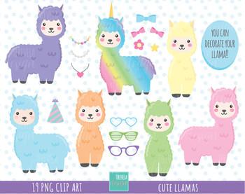 50% SALE Llamas clipart, alpaca clipart, llama clipart, lama clipart,  accesories png royalty free library