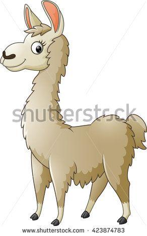 Alapca clipart png black and white stock cartoon alpaca | Alpaca clip art Free Vector / 4Vector | Cartoons ... png black and white stock