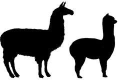 Alpaca silhouette clipart jpg freeuse download alpaca-llama-silhouette.jpg | Clipart Panda - Free Clipart Images jpg freeuse download