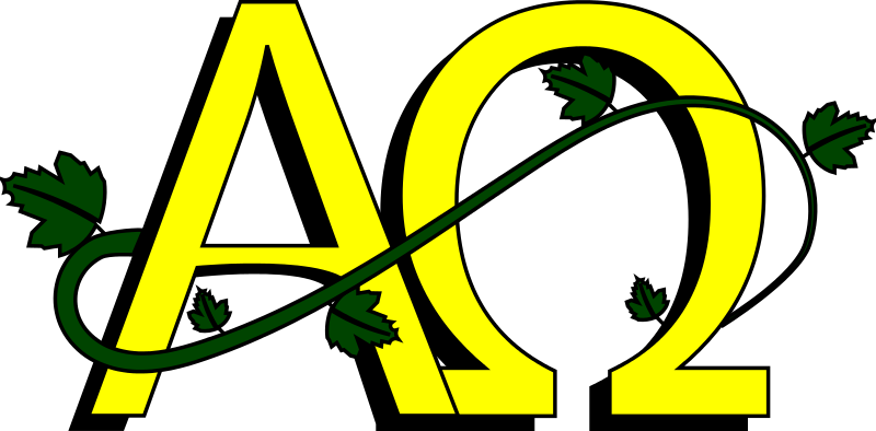 Alpha and omega clipart picture transparent Free Clipart: Alpha and Omega colored | dear_theophilus picture transparent