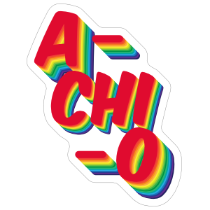 Alpha chi omega clipart vector library stock Alpha Chi Omega A Chi O Rainbow Sticker vector library stock