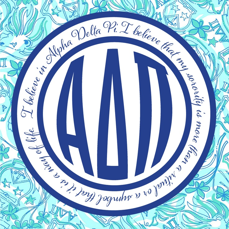 10+ images about I believe in Alpha Delta Pi... on Pinterest ... vector free
