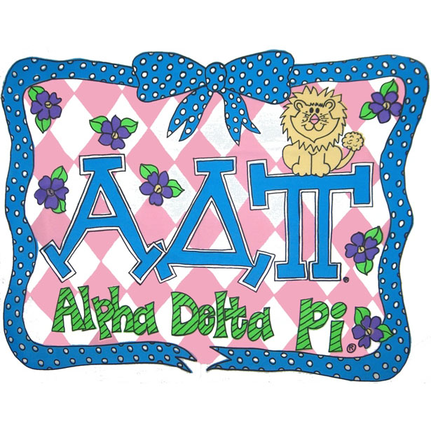 Alpha delta pi clipart - ClipartFest clip black and white stock