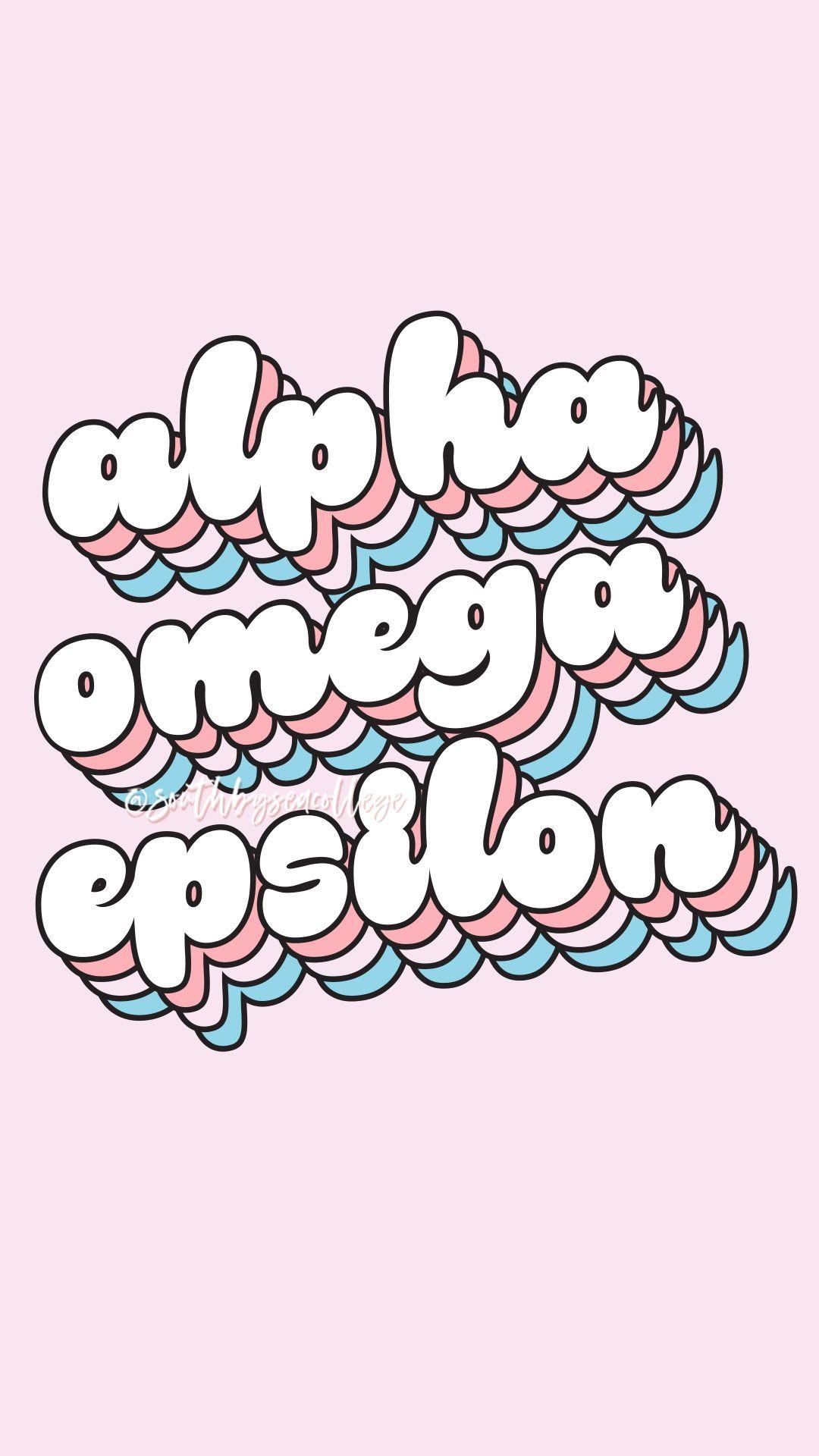Alpha omega epsilon clipart svg free download SOUTH BY SEA   @southbyseacollege ✰ Alpha Omega Epsilon   AOE ... svg free download