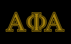 Alpha Phi Alpha - GreekHouse of Fonts transparent