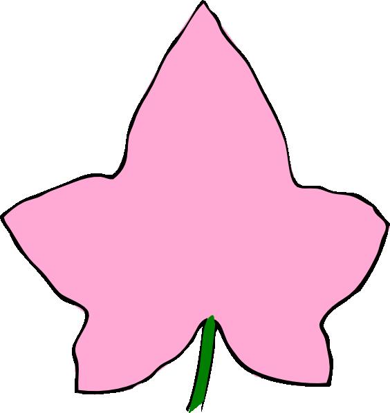 Clipartfest big pink at. Alpha phi ivy leaf clip art