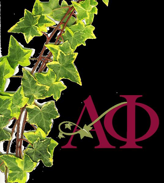 Alpha phi ivy leaf clip art banner library Alpha Phi – Stacy's Got Greek banner library