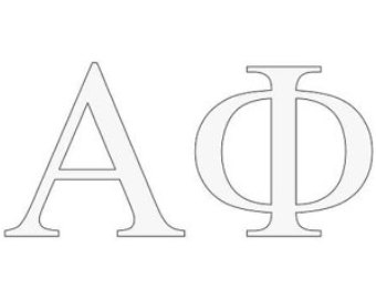 Alpha phi letter shirt clipart png Alpha phi letters – Etsy png