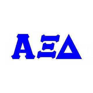 Alpha xi delta clipart image free Alpha Xi Delta Stickers & Decals - Greek Gear image free