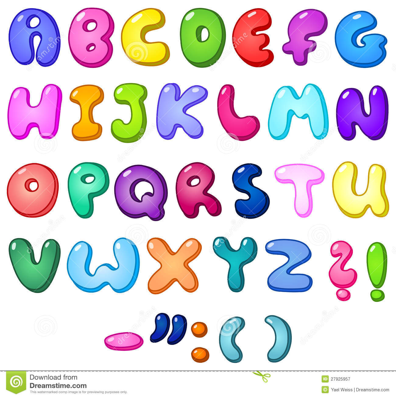 Alphabet. Copy of lessons tes