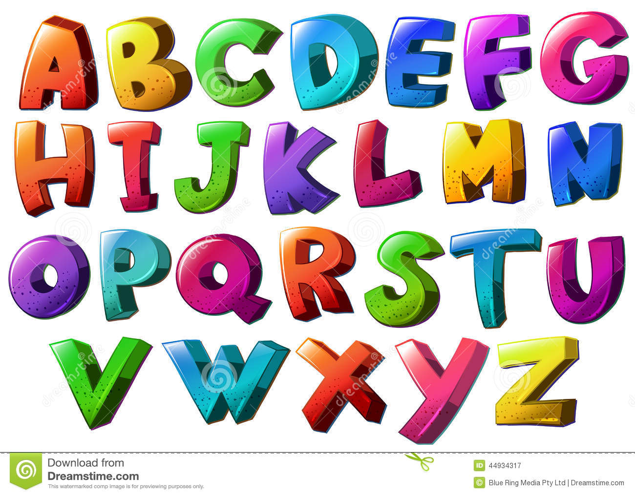 Geometric shapes letters stock. Alphabet