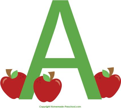 Alphabet a clipart clip art free Free Alphabet Clipart clip art free
