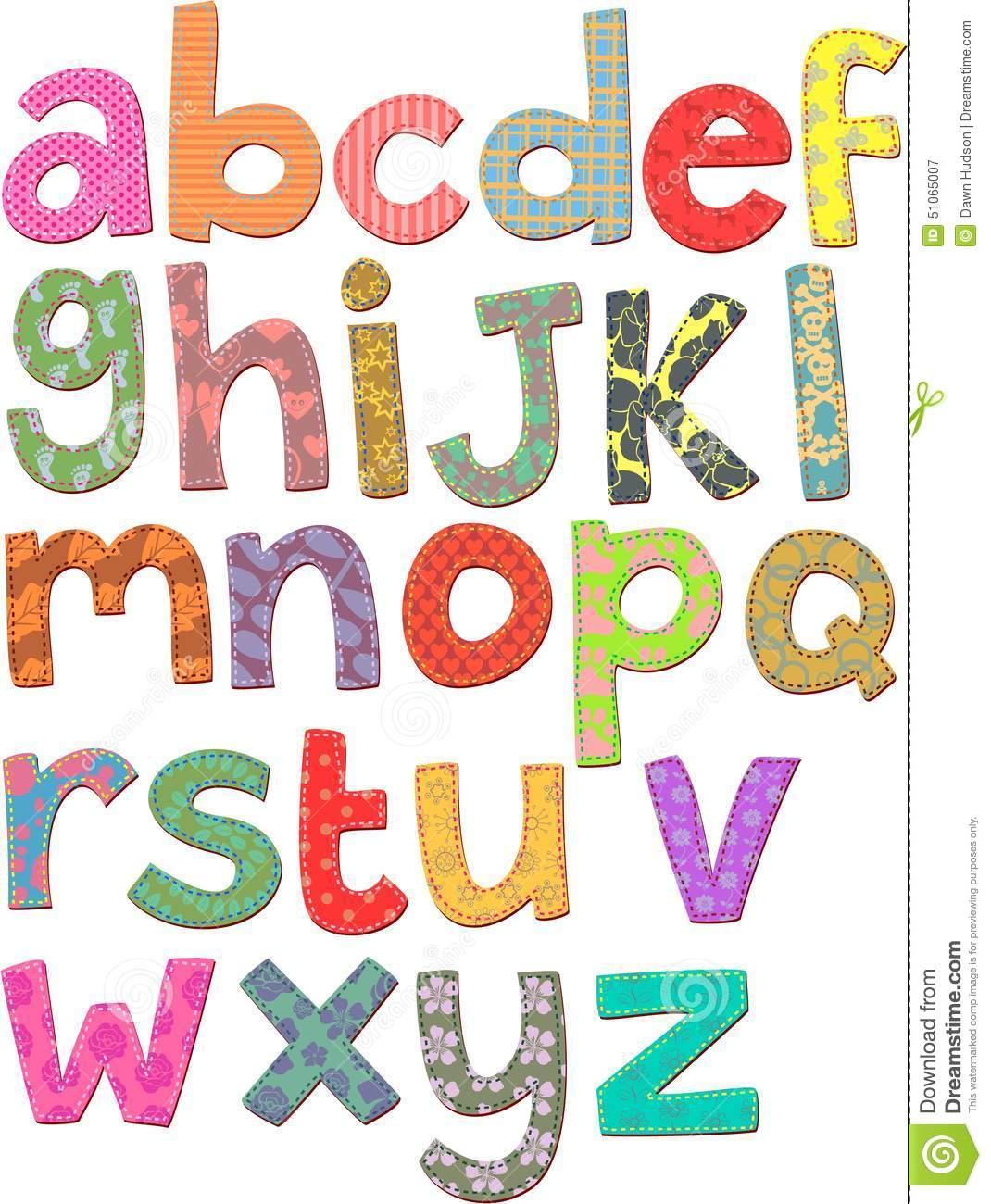 Alphabet Clip Art Stock Illustration - Image: 51065007 graphic free download