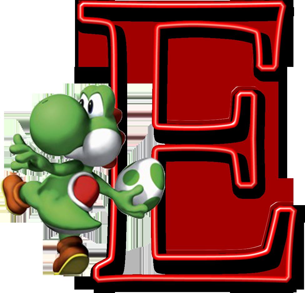 Alphabet baton clipart images image library download Alfabeto Mario Bros..E   Alphabet----Cute   Mario party, Mario bros ... image library download