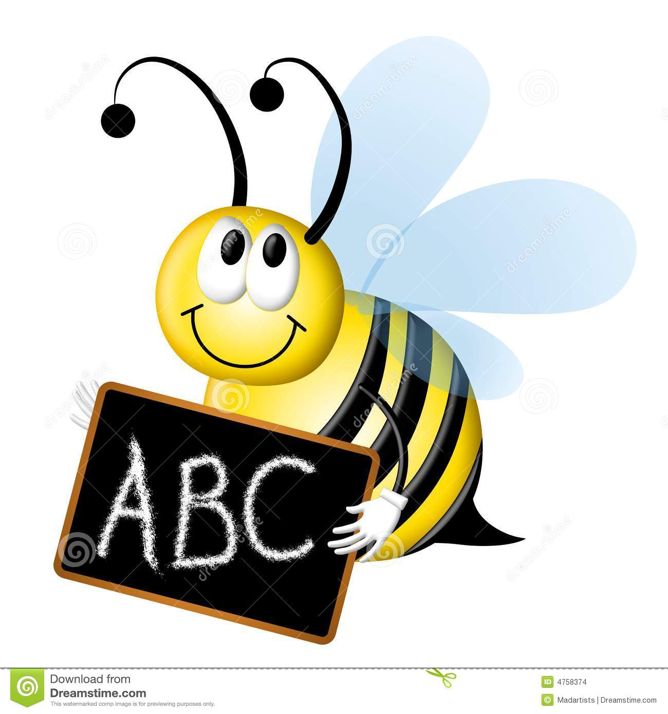 Alphabet bee abc clipart image transparent Alphabet bee abc clipart - ClipartFest image transparent