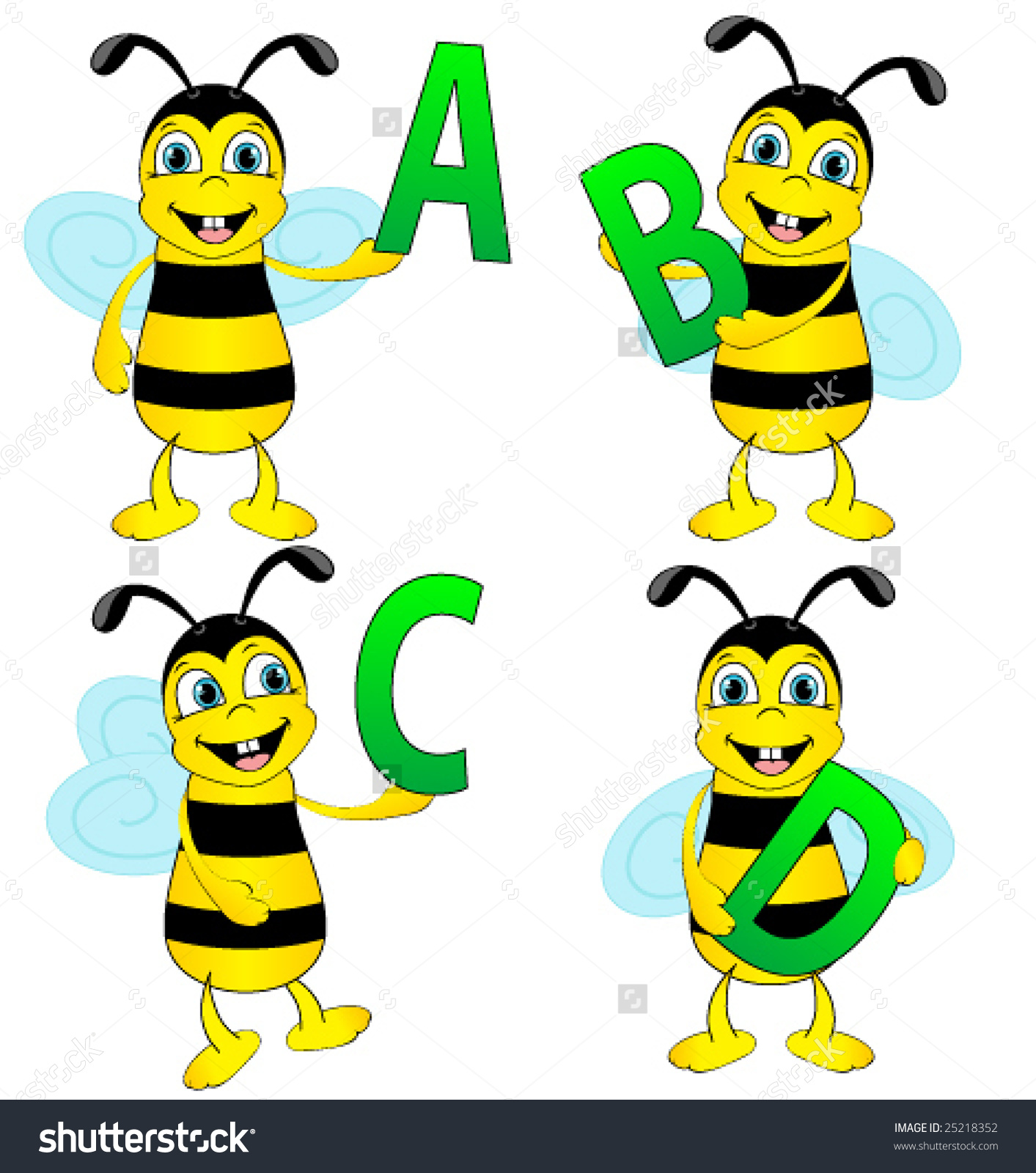 Alphabet bee abc clipart graphic free download Alphabet bee abc clipart - ClipartFest graphic free download