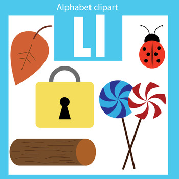 Alphabet beginning sounds clipart clip free library Alphabet clip art letter L Beginning sounds clip free library