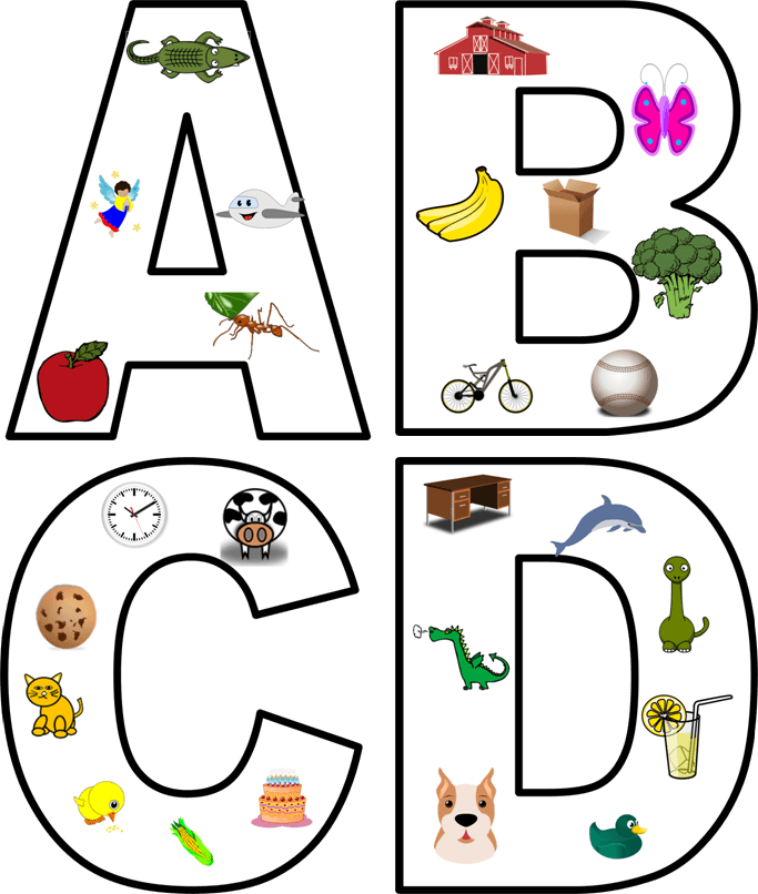 Alphabet beginning sounds clipart svg library Kids in Action: Alphabet Motion Clip Art to Teach Letter Sounds ... svg library