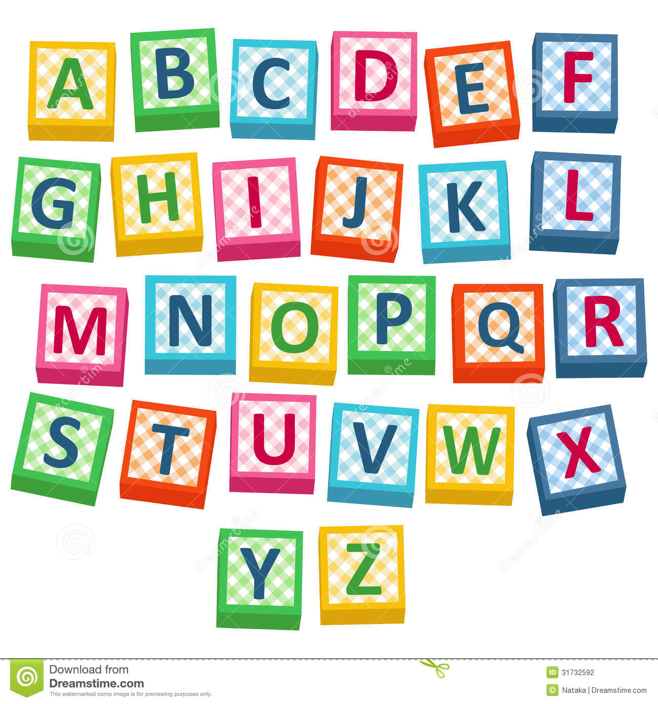Alphabet block clipart image library download Block Letters Clipart - Clipart Kid image library download