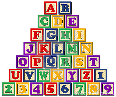 Alphabet block clipart vector royalty free stock Alphabet Block Letters Clipart - Clipart Kid vector royalty free stock
