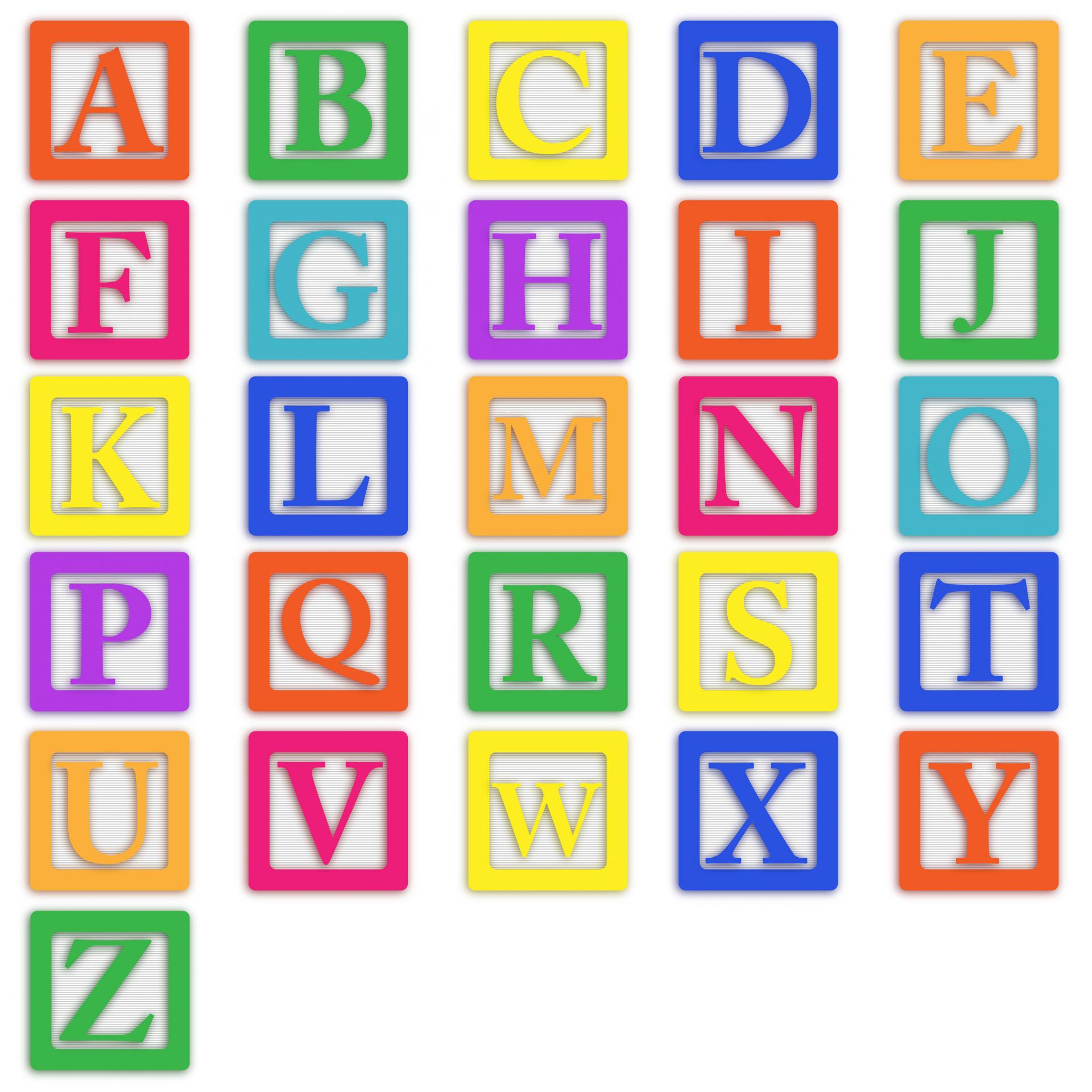 Baby blocks clipartfest letters. Alphabet block clipart
