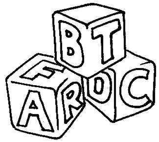 Alphabet blocks clip art image black and white Alphabet Blocks Jpg | Free Images at Clker.com - vector clip art ... image black and white