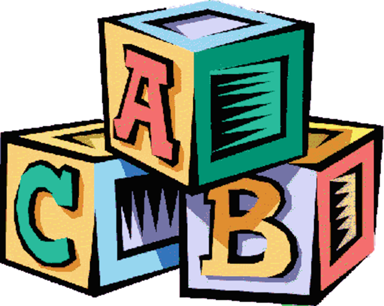 Alphabet blocks clip art. Psd official psds share
