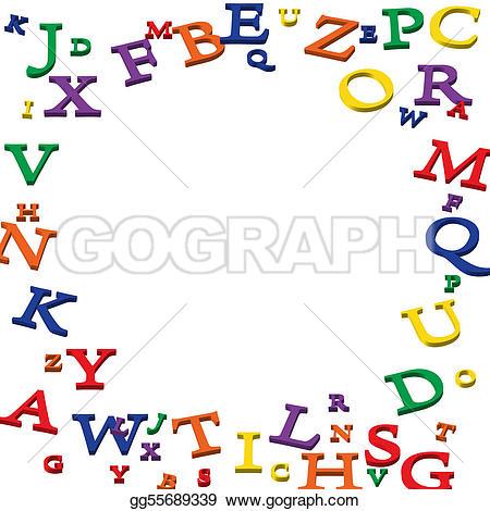Stock photo photos gg. Alphabet border clip art