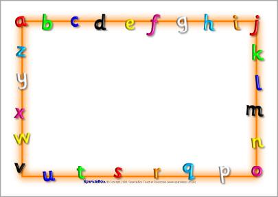 People clipart clipartfest letter. Alphabet border clip art