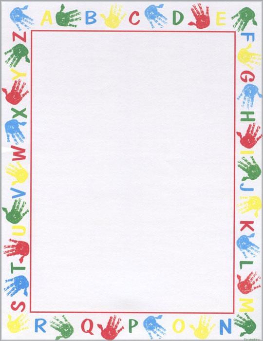 Alphabet border clipart jpg transparent 17 Best images about Page boarders on Pinterest | Free printable ... jpg transparent