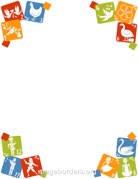 Free page borders and. Alphabet border clipart