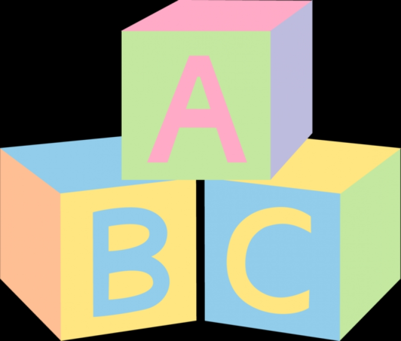 Clipartsco png clip art. Alphabet building blocks clipart