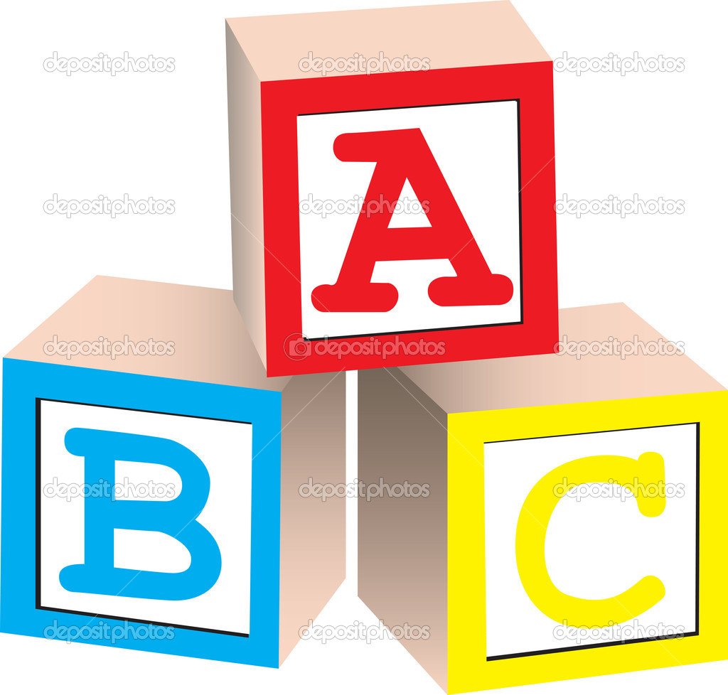 Alphabet building blocks clipart. Clipartfest block letters