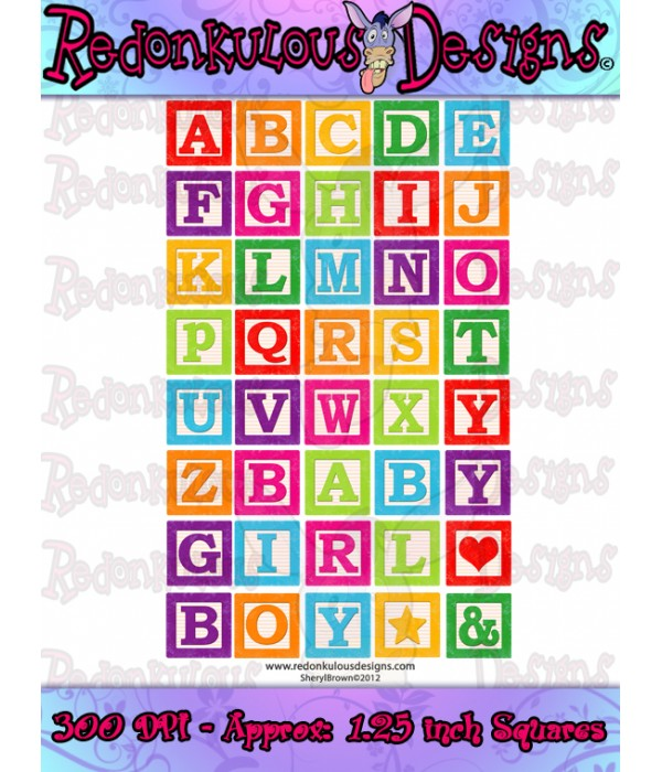 Abc kid clip art. Alphabet building blocks clipart
