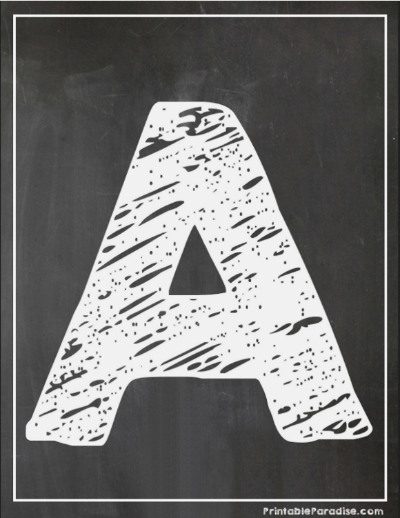 Alphabet chalk writing clipart image black and white library Chalk writing alphabet letters – Help Your Studies image black and white library