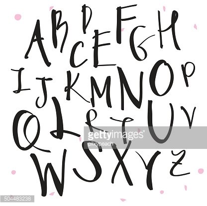 Alphabet chalk writing clipart clip art black and white download Black Chalk Pencil Alphabet Drawn Written premium clipart ... clip art black and white download