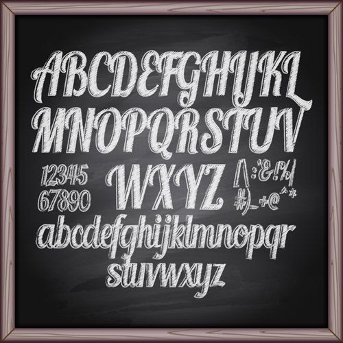 Alphabet chalk writing clipart graphic freeuse download circuit machine font chalk - Yahoo Image Search Results | Sayings ... graphic freeuse download