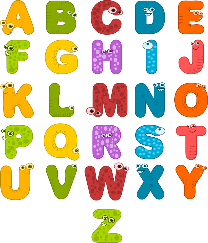 Alphabet pictures clip art image free Animal Alphabet Clipart at GetDrawings.com | Free for personal use ... image free